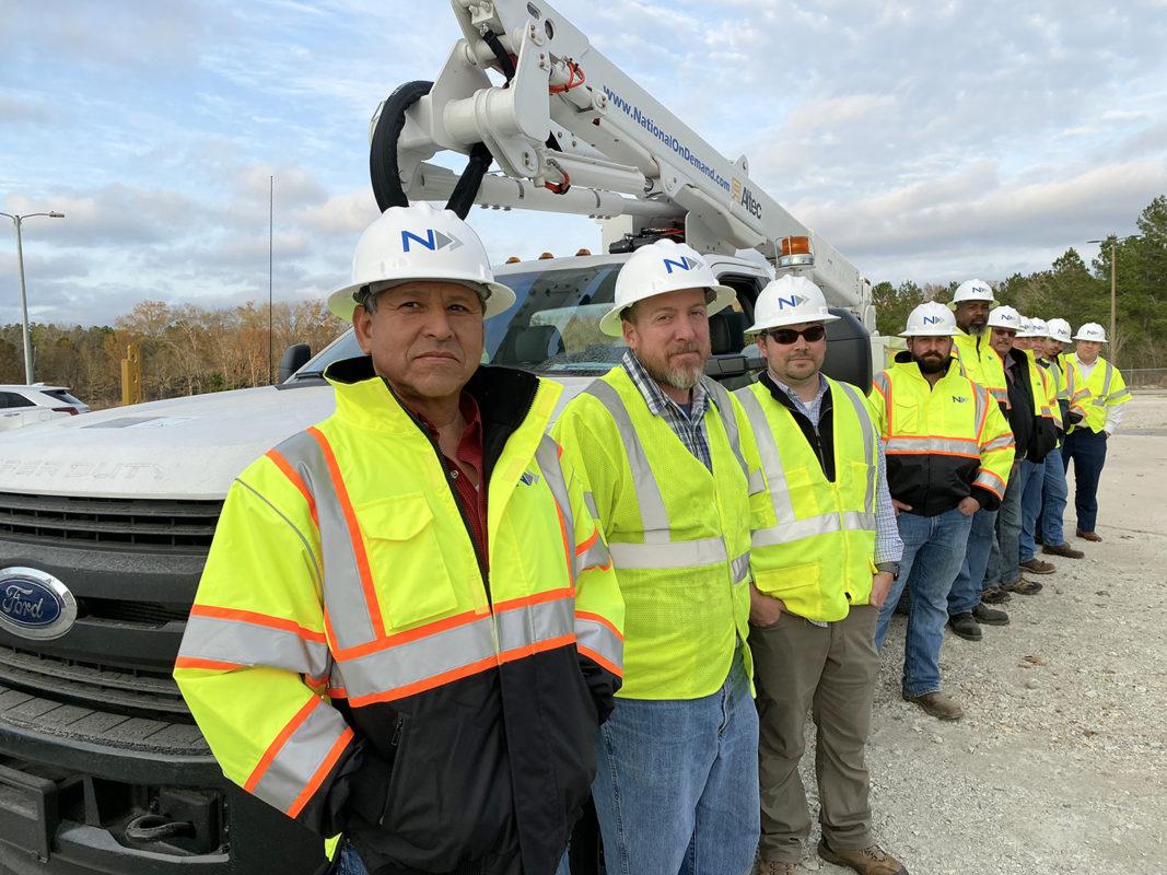 Fiber Construction in Texas